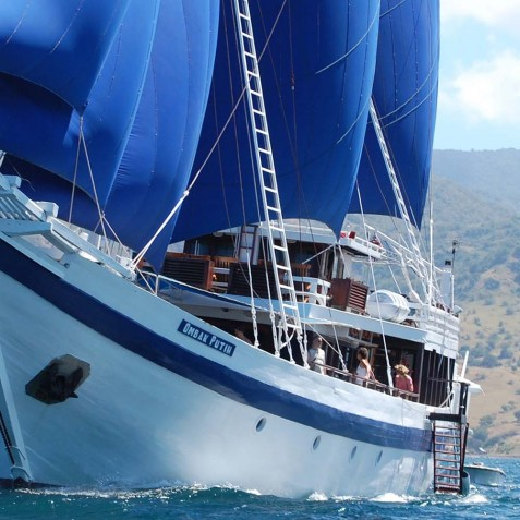Sail - Ombak Putih Cruises - Sailing Adventures - Indonesia