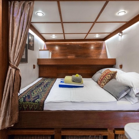 Double Cabin - The Katharina - Sailing Adventure Cruises Indonesia