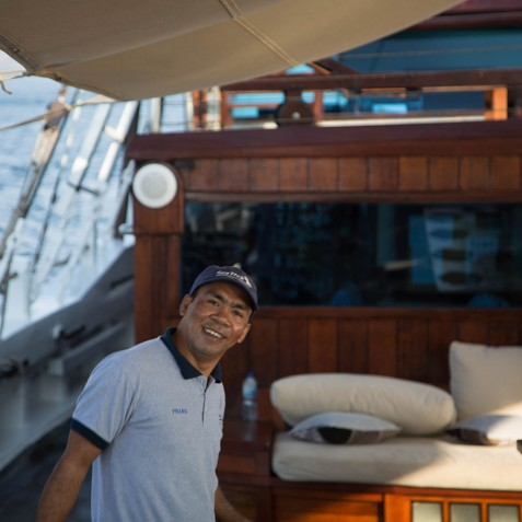 Crew Member - The Katharina - Sailing Adventure Cruises Indonesia