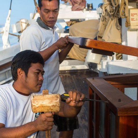 Crew Members - The Katharina - Sailing Adventure Cruises Indonesia