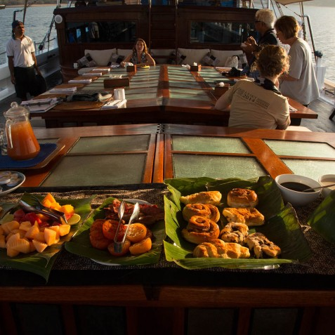 Cuisine - The Katharina - Sailing Adventure Cruises Indonesia