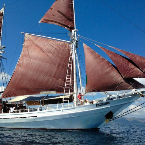 The Katharina - Sailing Adventure Cruises Indonesia