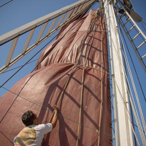 Mast - The Katharina - Sailing Adventure Cruises Indonesia