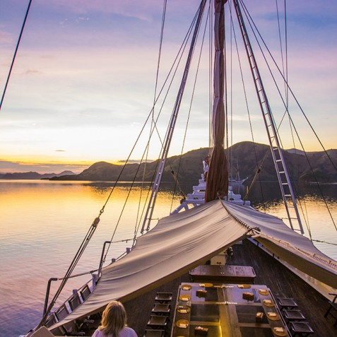 Sunsets - The Katharina - Sailing Adventure Cruises Indonesia