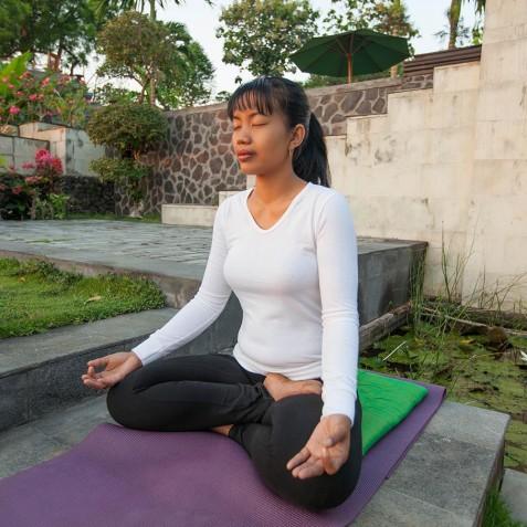 Morning Meditation - Zen Resort Bali - Indonesia