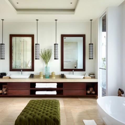 Ensuite Bathroom - Cocoon Villa - Cocoon Medical Spa Retreat, Seminyak, Bali