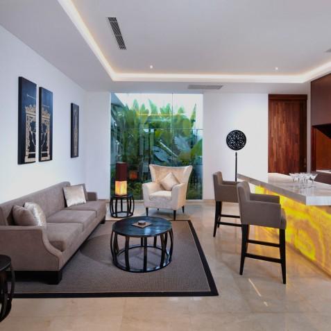 Formal Bar - Cocoon Villa - Cocoon Medical Spa Retreat, Seminyak, Bali