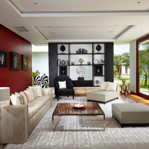 Formal Living Room - Cocoon Villa - Cocoon Medical Spa Retreat, Seminyak, Bali