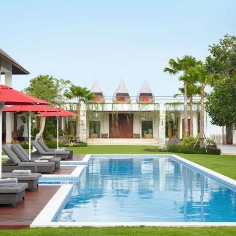Garden & Pool - Cocoon Villa - Cocoon Medical Spa Retreat, Seminyak, Bali