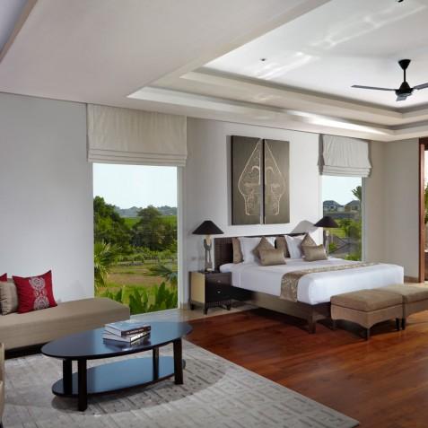 Master Bedroom - Cocoon Villa - Cocoon Medical Spa Retreat, Seminyak, Bali