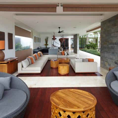 Open Living Area - Cocoon Villa - Cocoon Medical Spa Retreat, Seminyak, Bali