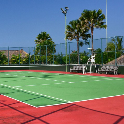 Tennis Court - Pantai Lima Estate - Canggu, Bali, Indonesia