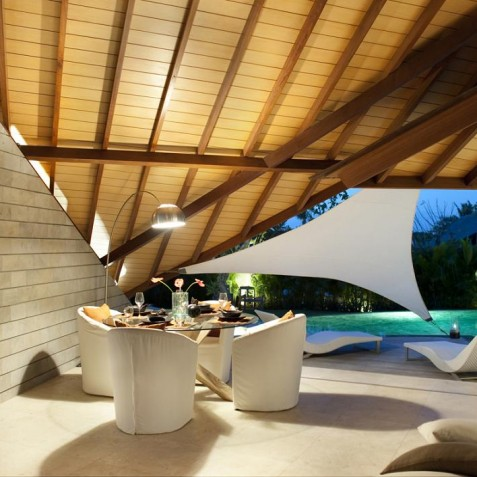 The Layar - 3 Bedroom Villa - Dining - Seminyak, Bali
