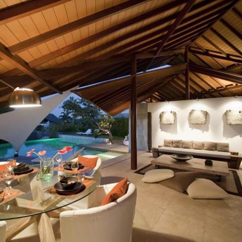 The Layar - 3 Bedroom Villa - Open Air Living - Seminyak, Bali