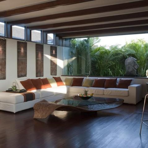 The Layar - 3 Bedroom Villa - Lounge Area - Seminyak, Bali