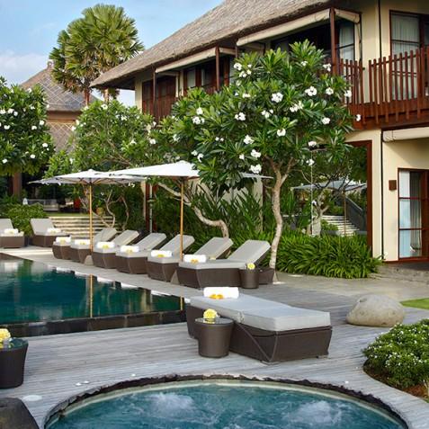 Villa Ambra Bali - Pool & Garden - Pantai Lima Estate, Canggu, Bali, Indonesia