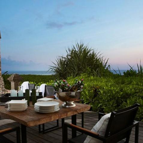Villa Ambra Bali - Alfresco Dining - Pantai Lima Estate, Canggu, Bali, Indonesia
