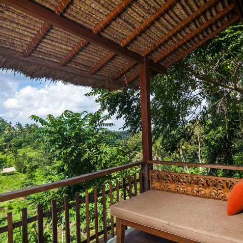 Deluxe Room Balcony - Svarga Loka Resort, Ubud, Bali, Indonesia