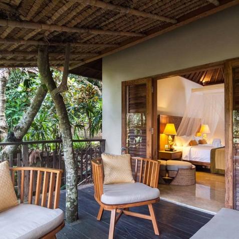 Deluxe Room - Svarga Loka Resort, Ubud, Bali, Indonesia
