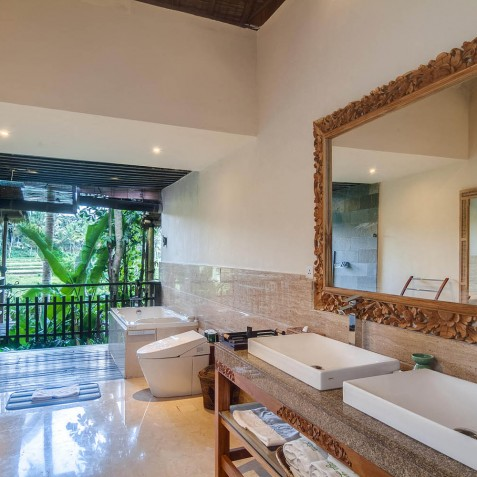 Master Suite Bathroom - Svarga Loka Resort, Ubud, Bali, Indonesia