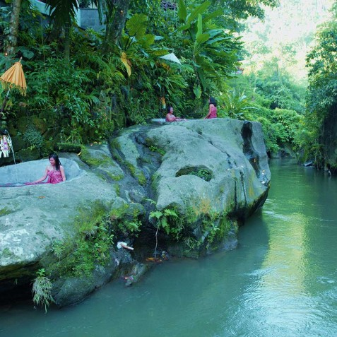 Svarga Loka Resort - Rock Baths - Ubud, Bali, Indonesia