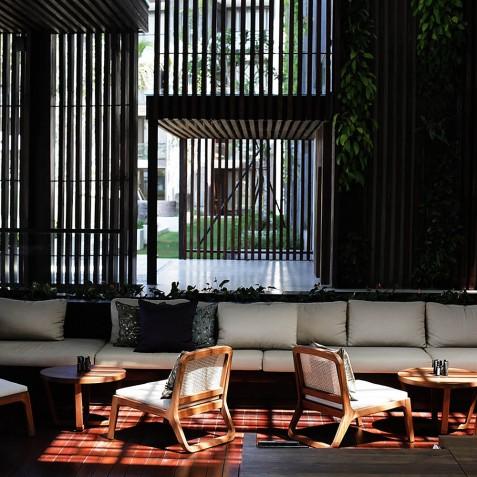 Lobby Lounge - Alila Seminyak, Bali, Indonesia