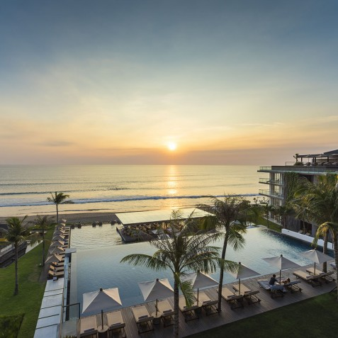 Sunset Panorama - Alila Seminyak, Bali, Indonesia