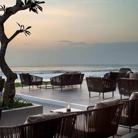 Restaurant Terrace - Alila Seminyak, Bali, Indonesia