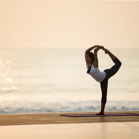 Sunrise Yoga - Alila Seminyak, Bali, Indonesia