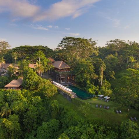 Aerial View - Alila Ubud, Bali, Indonesia