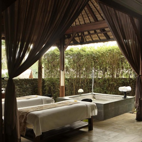 Spa Treatment Villa - Alila Ubud, Bali, Indonesia