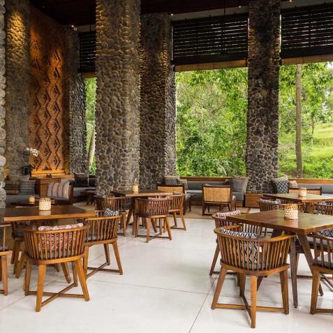 Cabana Lounge - Alila Ubud, Bali, Indonesia