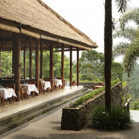 Dining Plantation - Alila Ubud, Bali, Indonesia