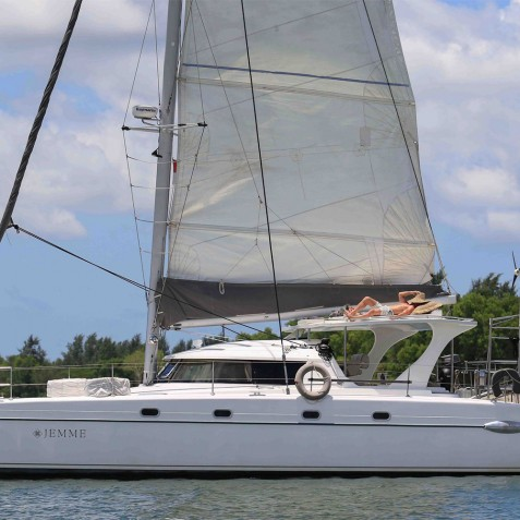 Jemme Catamaran - Luxury Bali Day Charter