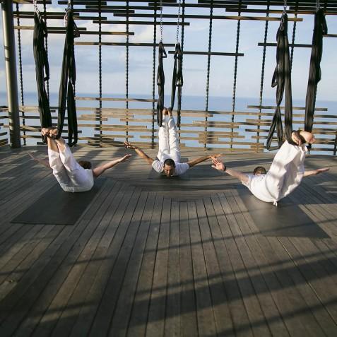 Alila-Villas-Uluwatu-Aerial-Yoga