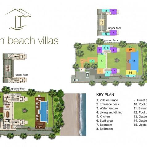 Seseh Beach Villa I Floorplan