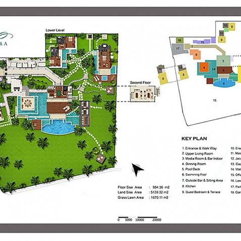 Villa Semarapura Floorplan