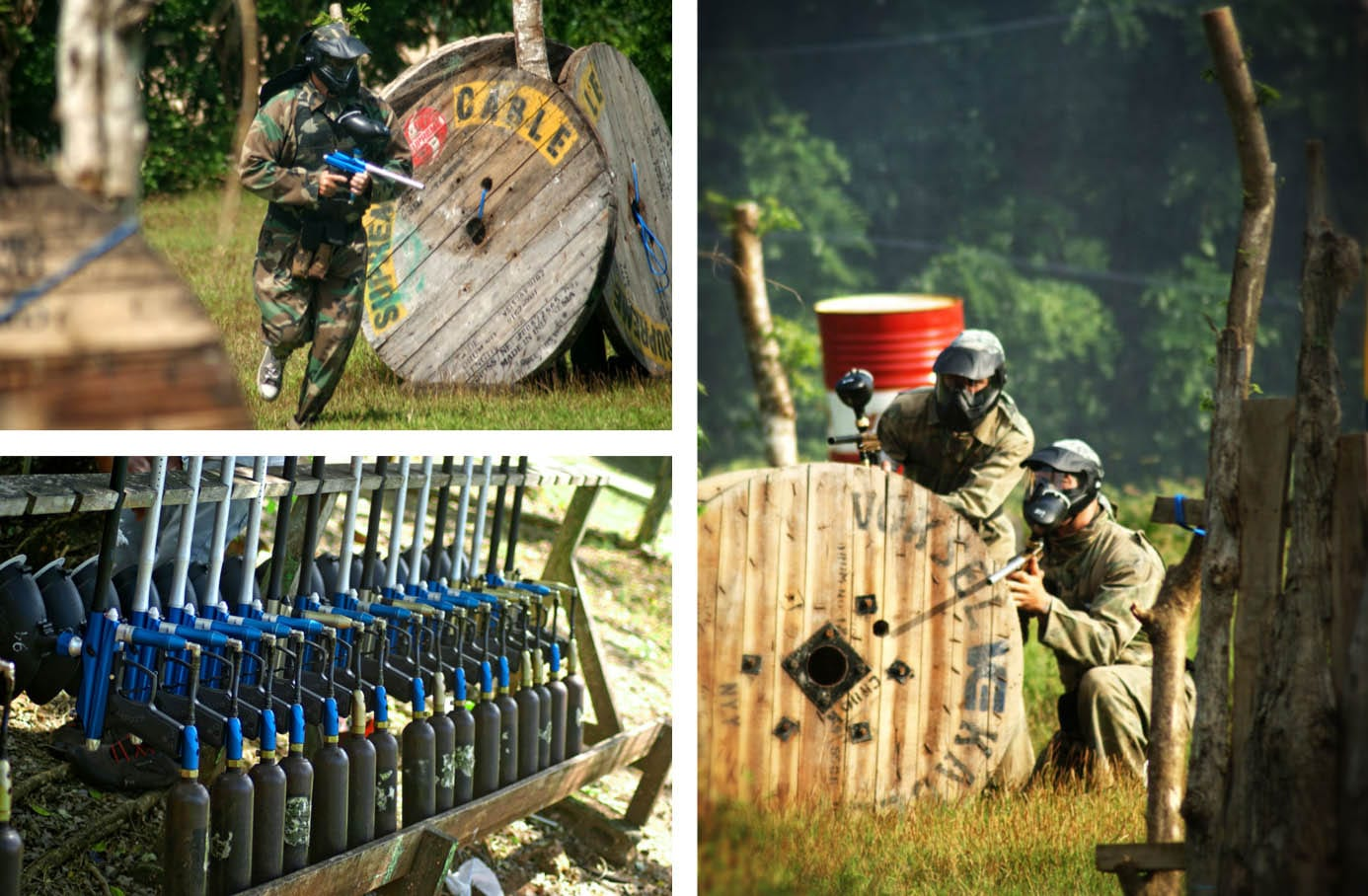 Bali-Paintball-Area
