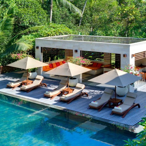 The Arsana Estate - Pool and Lounge Area - Tabanan, Bali
