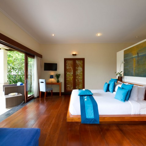 The Arsana Estate - Blue Guest Suite - Tabanan, Bali