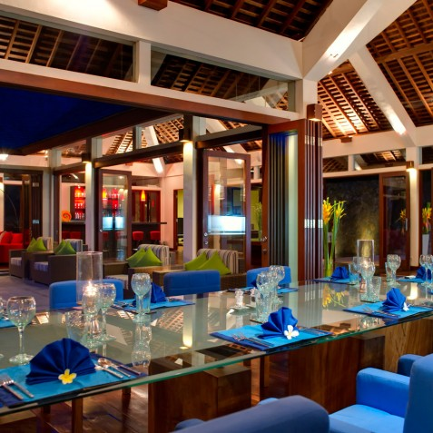 The Arsana Estate - Dining and Living Area - Tabanan, Bali