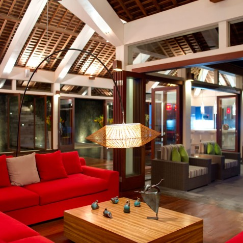 The Arsana Estate - Living Room - Tabanan, Bali