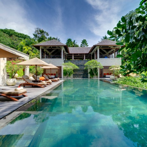 The Arsana Estate - Pool and Sun Loungers, Tabanan, Bali