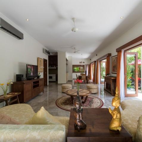 Villa Kalimaya IV - Living Area Interior - Seminyak, Bali