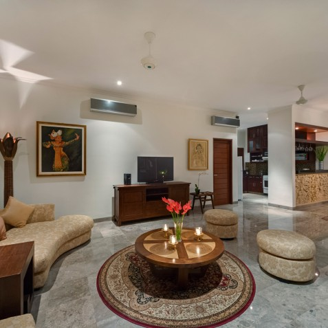 Villa Kalimaya IV - Lounge Area - Seminyak, Bali