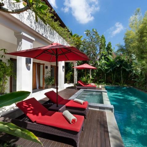 Villa Kalimaya IV - Pool Deck - Seminyak, Bali