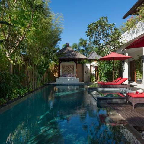 Villa Kalimaya IV - Pool Deck and Bale - Seminyak, Bali