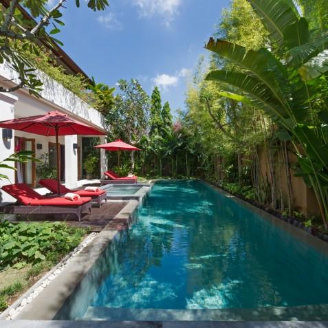 Villa Kalimaya IV - Pool from Bale - Seminyak, Bali
