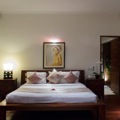 Villa Kalimaya IV - Upstairs Guest Bedroom - Seminyak, Bali