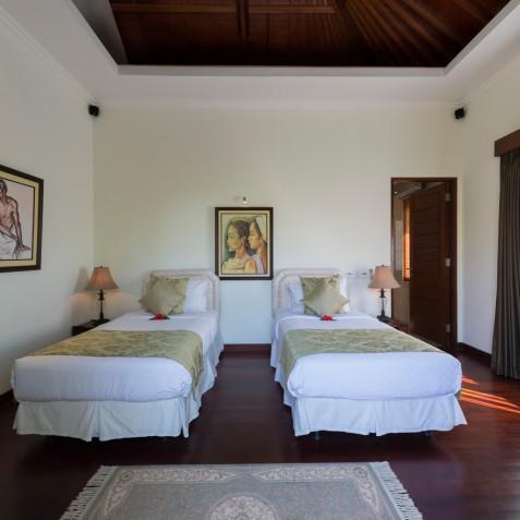 Villa Kalimaya IV - Upstairs Twin Bedroom - Seminyak, Bali